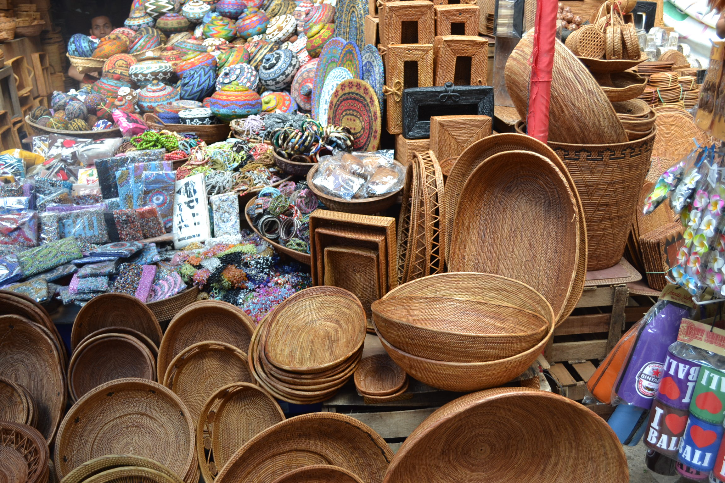 ubud traditional art market  ubud  bali  indonesia