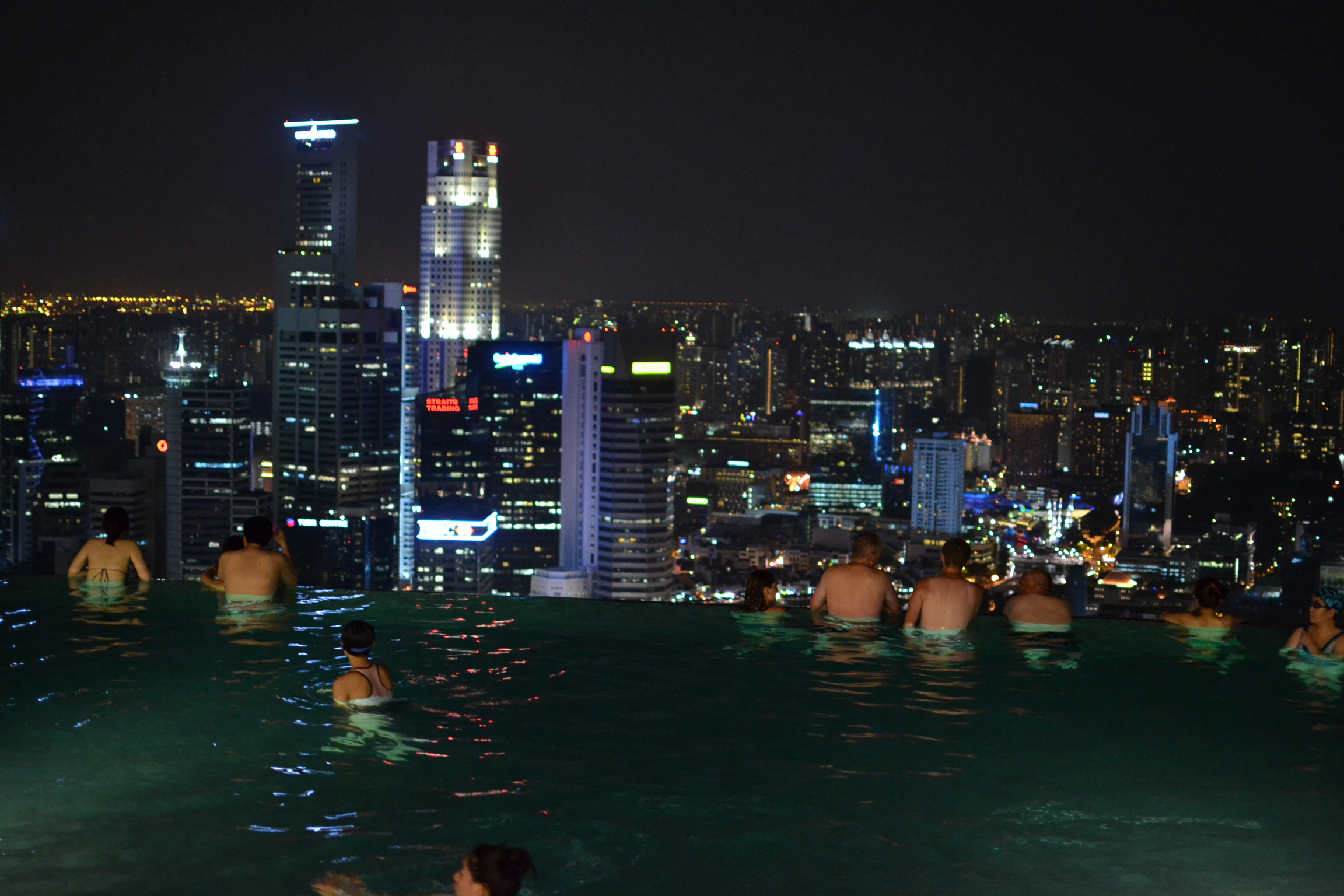 infinity pool night. DSC_0941 Infinity Pool Night T