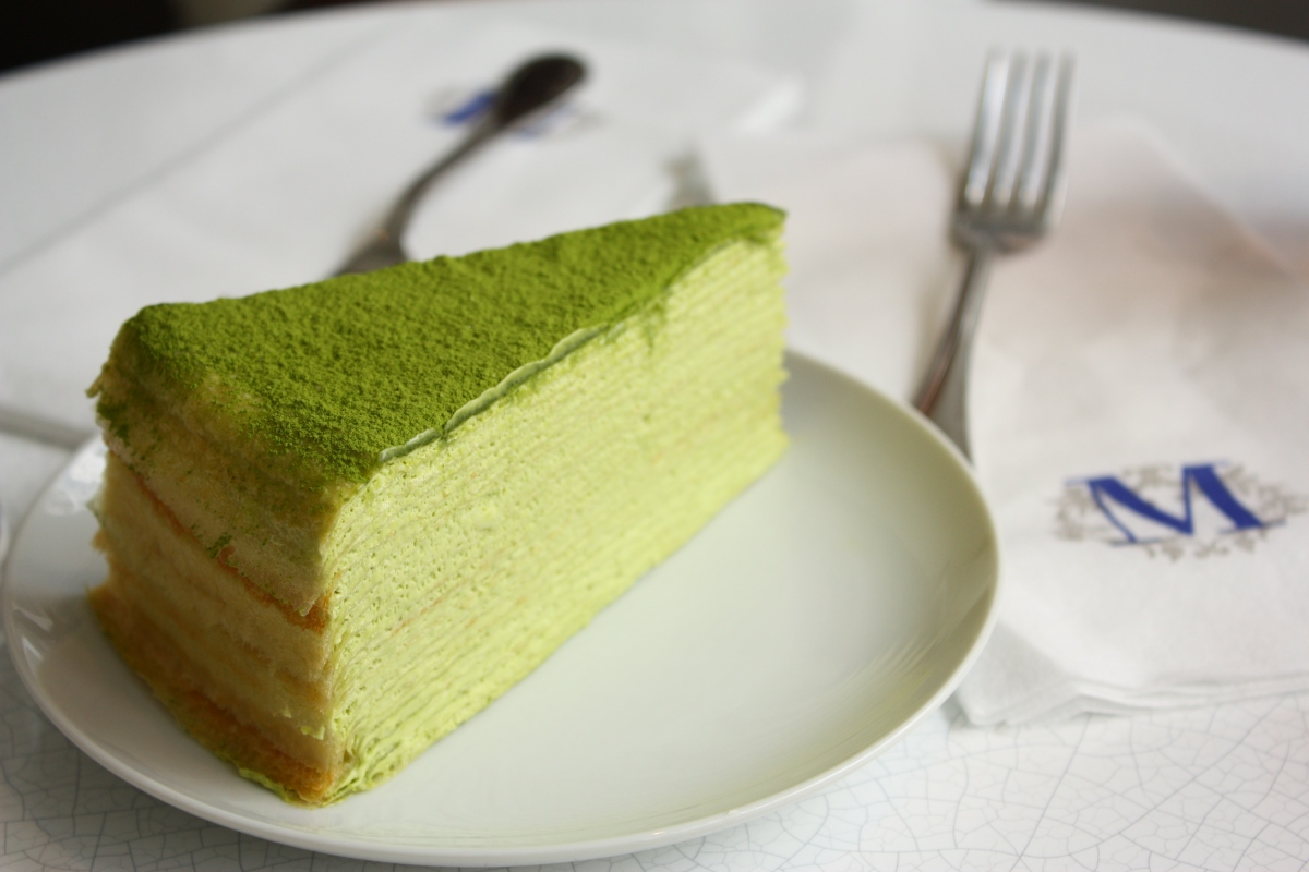 Green Tea Layer Cake Nyc